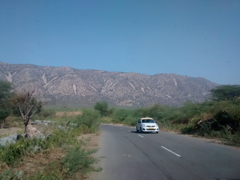 Enthralling view of the Aravali Range